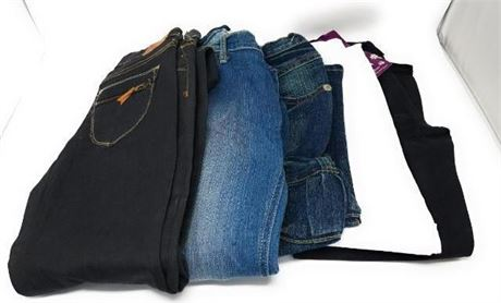 48 Brand New Jeans, Capris for Girls, Juniors and Womens Lot Assorted styles