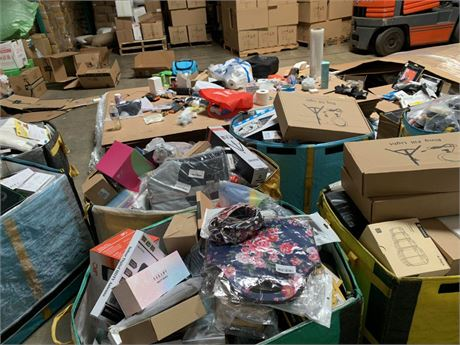 100pc Amazon Brand New Items-Mixed in Pallet, Great Deal for reselling
