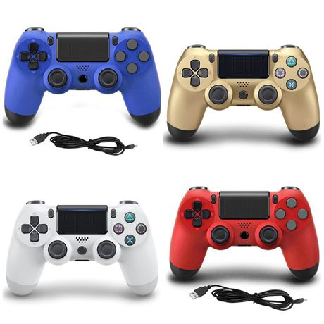 5 New Wired Video Gaming Controllers for PlayStation 4 (PS4)
