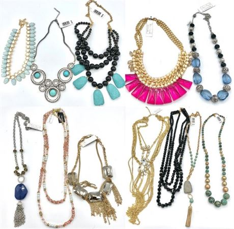 30 pieces High End Boutique Statement Necklaces Pre-priced $59.95 Each